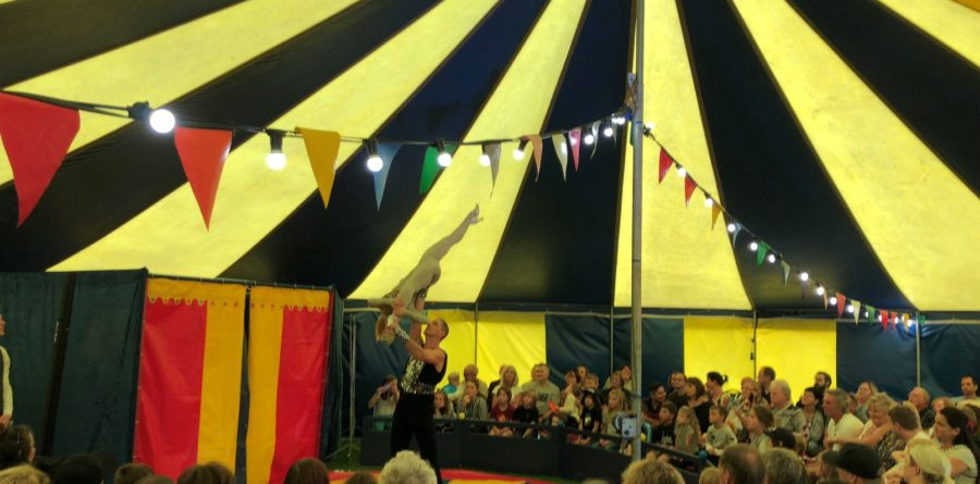 Circus Petite visit West Mersea for more breath-taking family fun