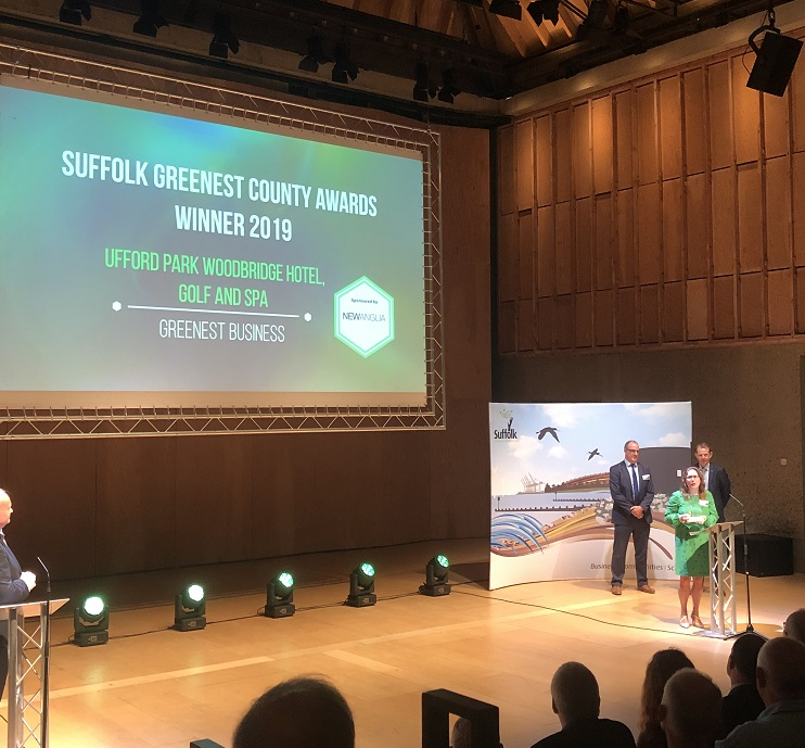 Woodbridge hotel named greenest in Suffolk