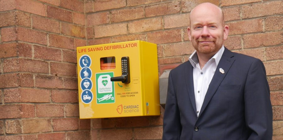 Accountancy firm provides community with defibrillators