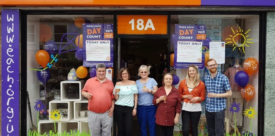 Party vibes in Sudbury as charity shop celebrates fifth birthday
