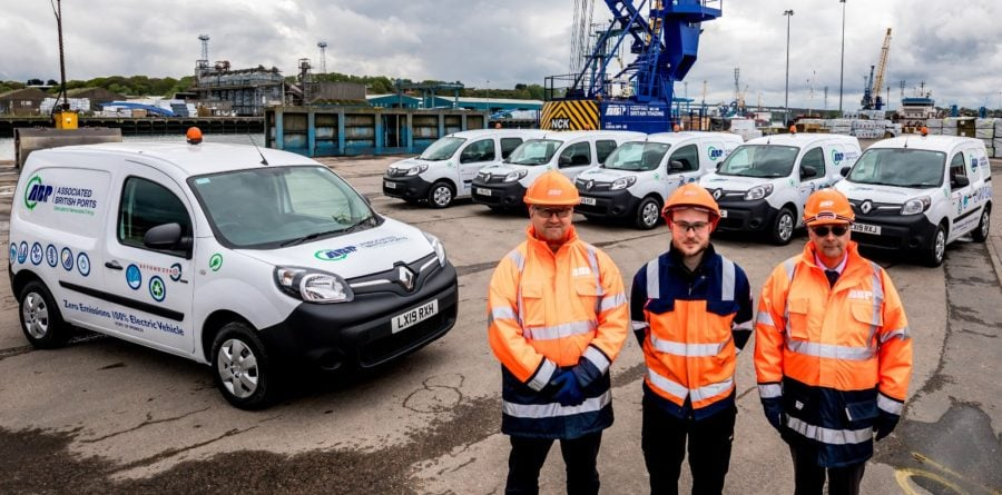 ABP invest in fleet of electric vehicles for East Anglian ports