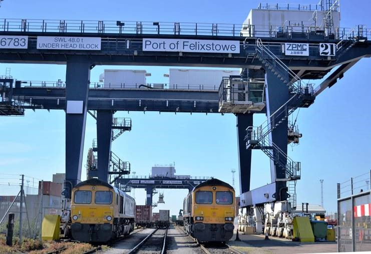 Port of Felixstowe adds another Rail destination