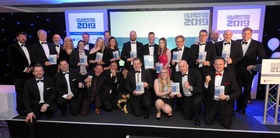 JMS celebrate win at East Midlands Celebrating Construction Awards