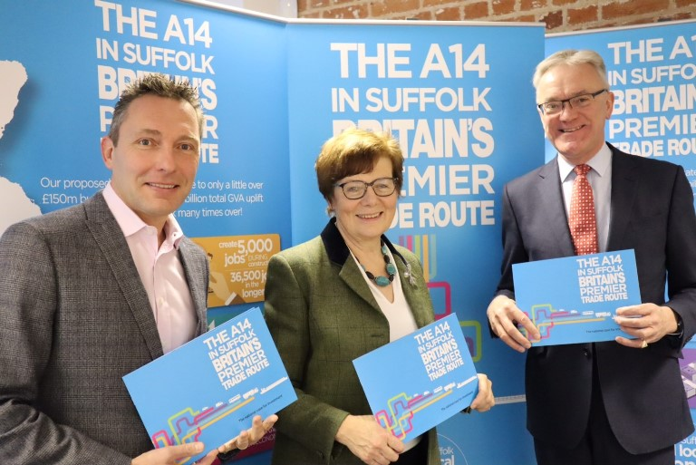 Next big push for Suffolk's A14 campaign