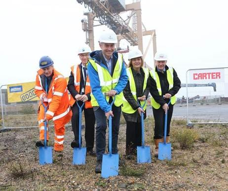 Harwich International hosts new Offshore Wind Base