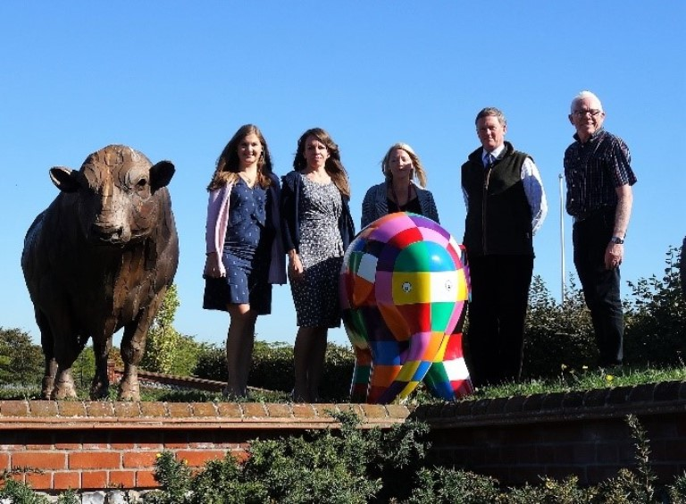 SAA joins Elmer's Big Parade with unique display at Suffolk Show 2019