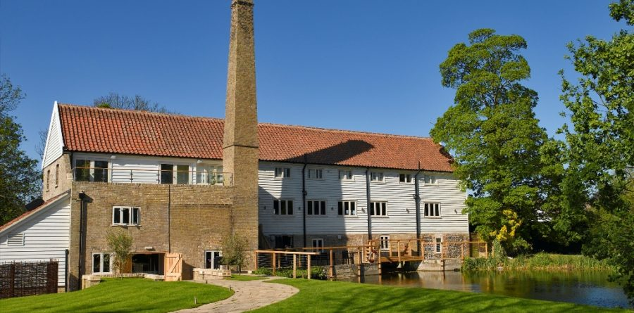 Tuddenham Mill named best Suffolk restaurant