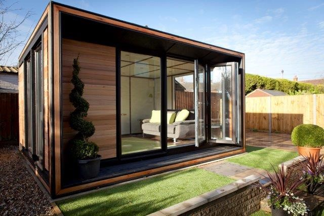 How would you use your contemporary garden room?