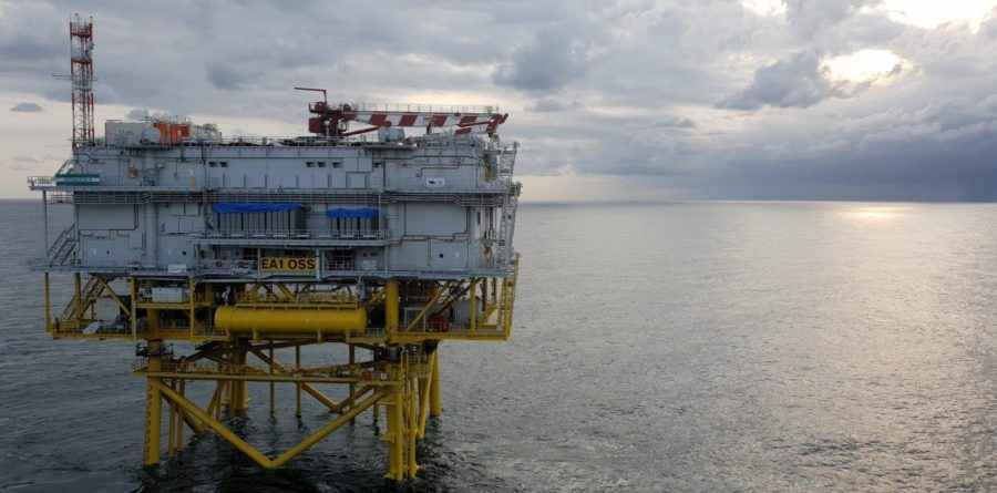 East Anglia ONE Offshore Substation Installed