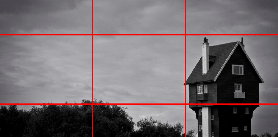 Take great photos with the rule of thirds