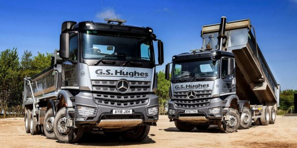 Mercedes Aroc tippers