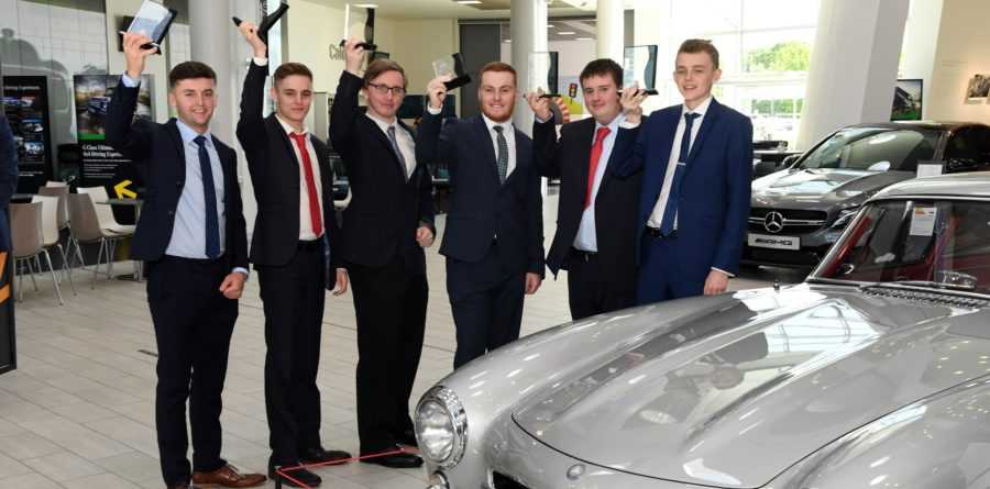 Mercedes-Benz honours its brightest and best commercial vehicle apprentices