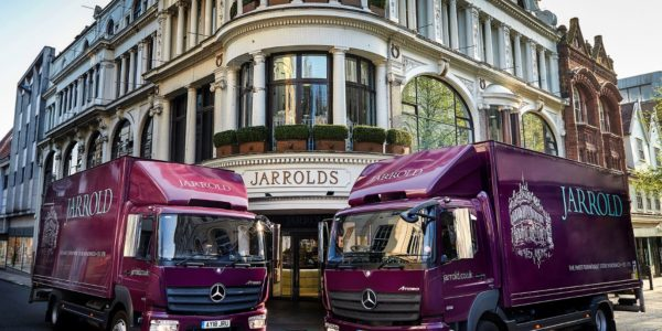 Jarrold welcomes new Mercedes-Benz