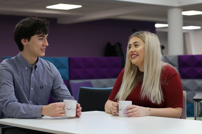 Flagship apprentices on course for a degree and housing career
