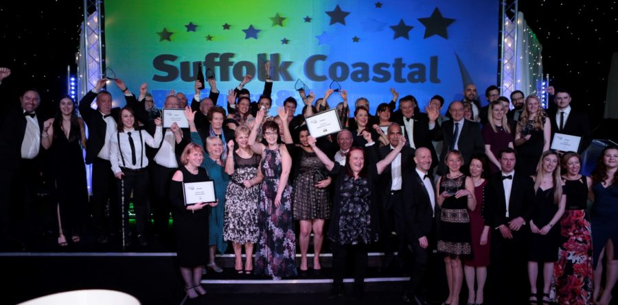 Winners announced for the Suffolk Coastal Business & Community Awards 2018