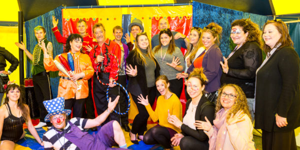 Circus performance for people with Learning Disabilities
