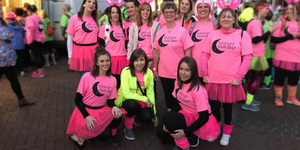 Christies Care raises hundreds at Ipswich Midnight Walk