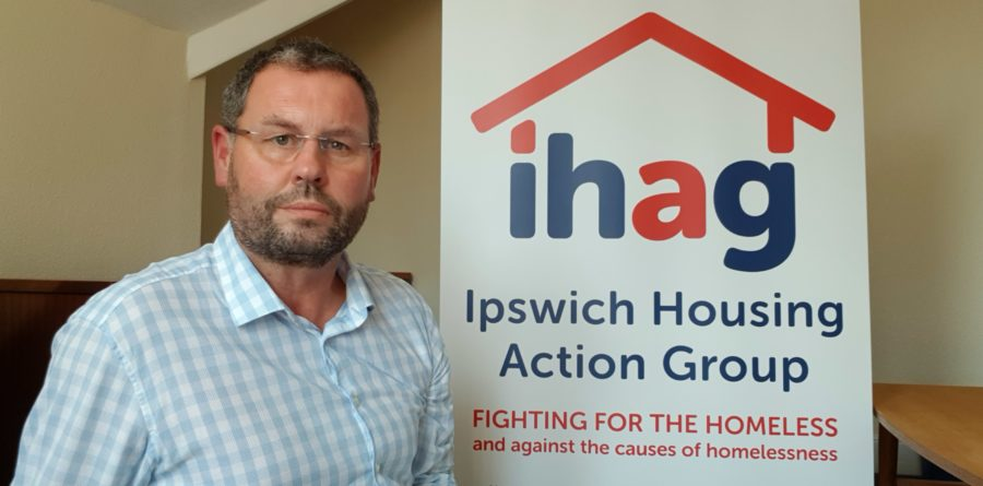 An Ipswich charity for the homeless focuses on action