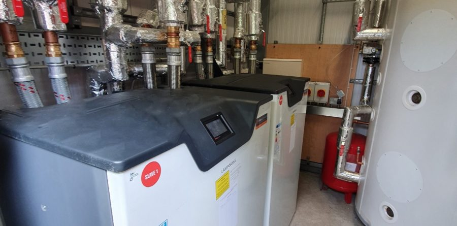 Flagship Customers feel the benefit of renewable heating project