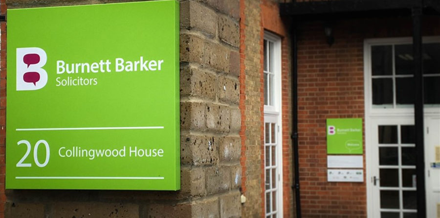 Could you be the new face of Burnett Barker Solicitors?