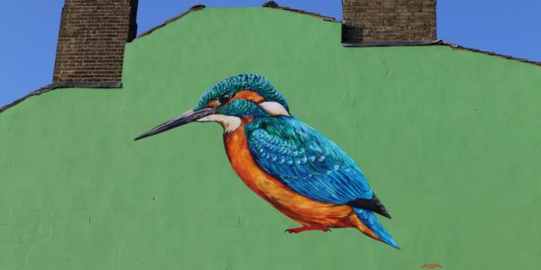 Kingfisher Mural