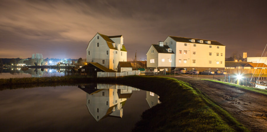 Woodbridge Tide Mill Museum and a Company of Four present 'Thrill at the Mill' this Halloween