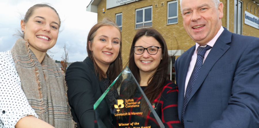 Lovewell Blake crowned 'Employer of the Year' at Chamber Business Awards