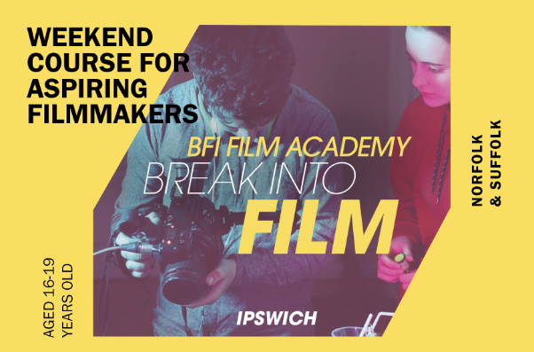 BFI Film Academy announces Ipswich course for young film makers
