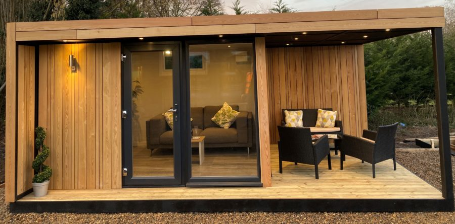 A new garden room range – offering you a perfect work/ life balance