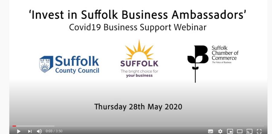 """'Invest in Suffolk Ambassadors' webinar """"timely and vital"""""""