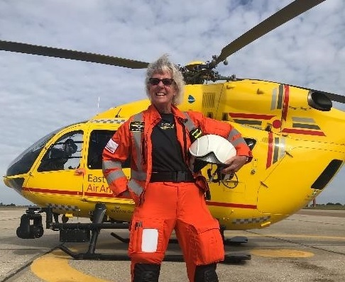 Air ambulance call on Suffolk to help them run 2,000 miles next month