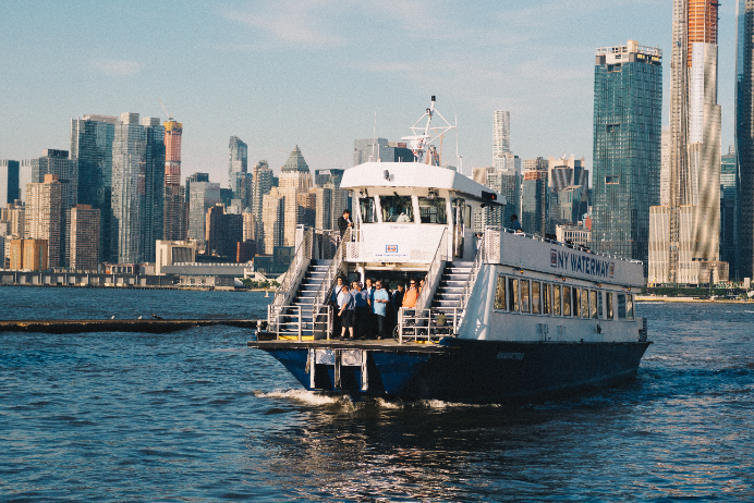 Ferry safe: preference to travel via water rather than plane, train or coach