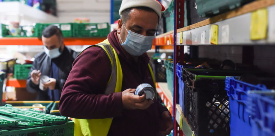 UK's biggest food collection is vital this year as charities face a Covid-19 Christmas