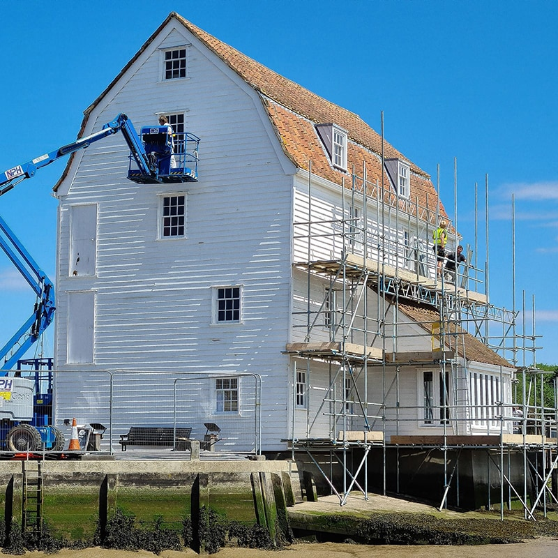Woodbridge Tide Mill tackles the challenges of lockdown