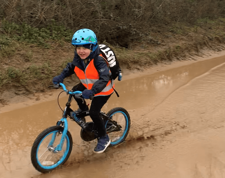 """Boy cycles 100 miles """"to help children who are poorly feel happy"""""""