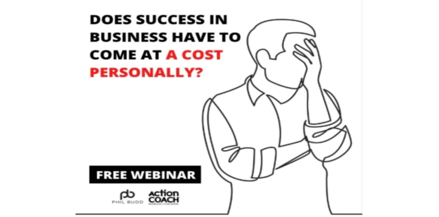 Does business success have to come at a personal cost?