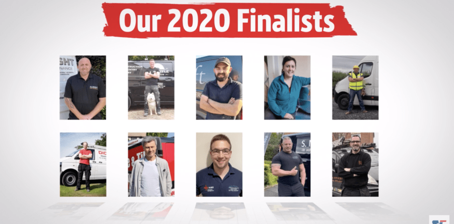 Suffolk Carpenter Runner Up in Top Tradesperson 2020