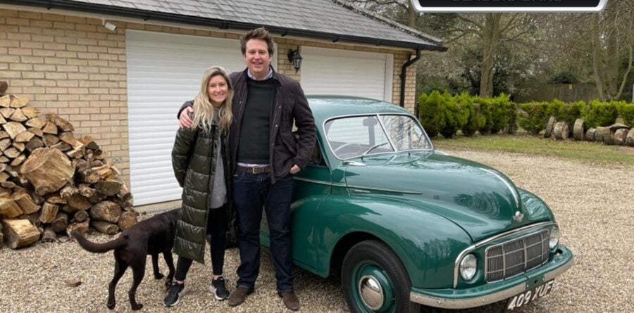 Classic car firm gift local enthusiasts with classic motor