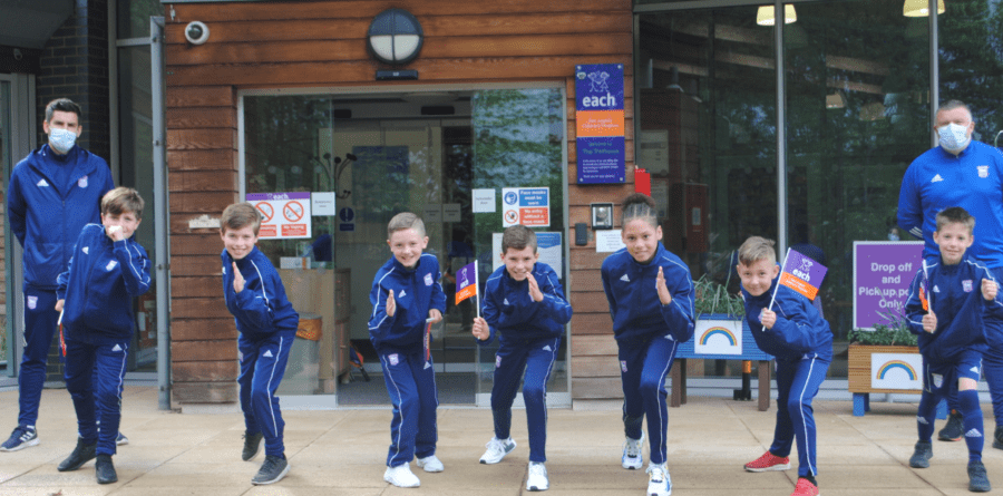 Ipswich Town youngsters make big community contribution
